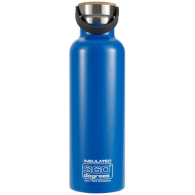 360° degrees Vacuum Insulated Drinkfles 750ml blauw